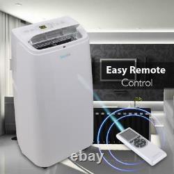 Serene-life 12 000 Btu Climatiseur Portable Déshumidificateur A/c Ventilateur + Distant