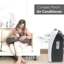 Serene-vie 8000 Btu Climatiseur Portable Dehumidifier A / C + Ventilateur À Distance