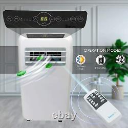 Serenelife 10000 Portable Climatiseur + 9000 Btu Chauffage, Unité Ac 4-en-1