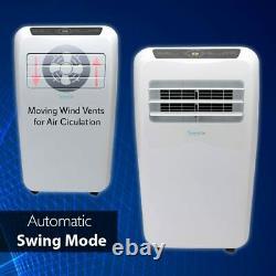 Serenelife 8 000 Btu Portable 3-en-1 Climatiseur Pour Chambres Jusqu'à 225 Pieds Carrés