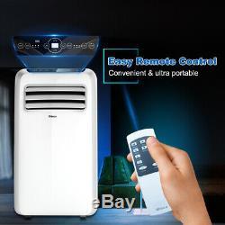 Shinco 8000 Btu Climatiseur Portable, Dehumidifier Fonctions Ventilateur, Avec Télécommande