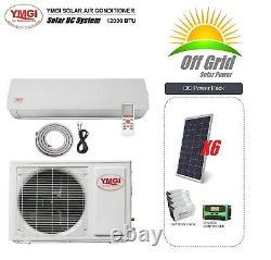 Solar DC Mini Split Air Conditioner Pompe À Chaleur Ymgi System 12000 Btu 48v
