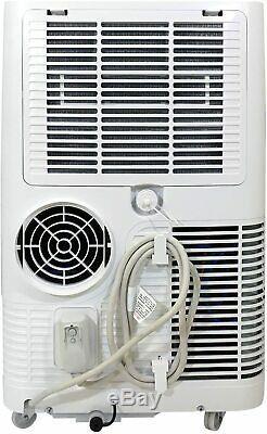 Soléaire Air 8000 Btu Ashrae Portable Climatiseur Avec Télécommande, Blanc