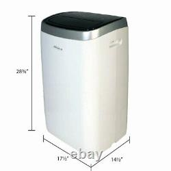 Soleusair 12 000 Btu Climatiseur Portable Avec Déshumidificateur, Blanc, Pmc-12-01