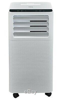 Tcl 6000 Btu 2 Vitesses Climatiseur Portable Avec Télécommande Blanc
