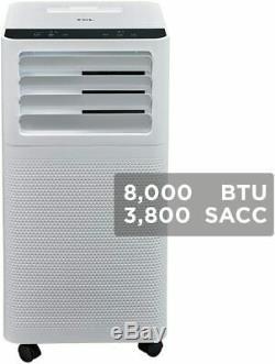 Tcl 8000 Btu 200 Sq. Ft. Climatiseur Portable Avec Télécommande