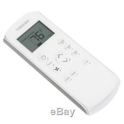 Toshiba 12 000 Btu Ashrae 115 Volts Climatiseur Portable Avec Télécommande
