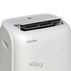 Toshiba 8000 Btu Portable Climatiseur Dehumidifier Rac-pd0811cru À Distance R