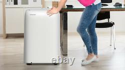Toshiba 8 000 Btu Portable Air Conditioner Dehumidifier Remote Rac-pd0811cru R