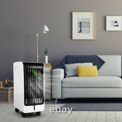 Ventilateur Portatif De Refroidisseur De Climatiseur D'évaporation Avec Télécommande 2 Boîtes De Glace