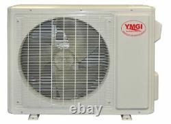 Ymgi 12000 Btu Ac DC Ductless Mini Split Climatiseur Jusqu'à 32 Panneaux Seer 3