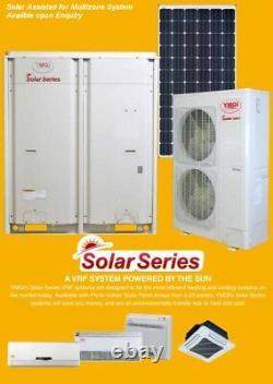 Ymgi 12000 Btu Solar Assist Ductless Mini Split Air Conditioner System Pompe À Chaleur