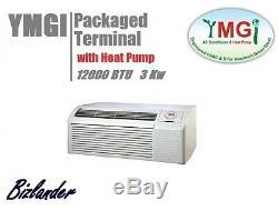 Ymgi 12000btu Terminaux Autonomes Climatiseur 265 / 277v Avec 3kw Heate Hôtel