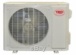 Ymgi 1 Ton 12000 Btu Solar Assist Ductless Mini Split Climatiseur Pompe À Chaleur