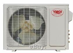 Ymgi 24000 Btu 22 Seer Double Zone Ductless Mini Split Climatiseur Pompe À Chaleur