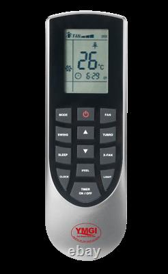 Ymgi 27000 Btu 21 Seer Dual Zone Mini Split Air Conditioner Pompe À Chaleur