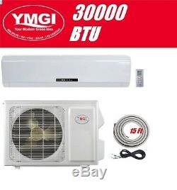 Ymgi 30000 Btu Ductless Mini Climatiseur Split Pompe À Chaleur