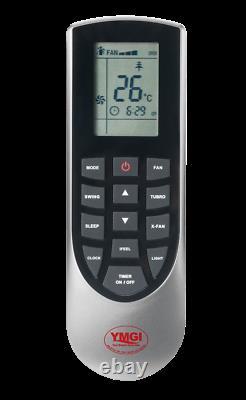 Ymgi 30000btu12k+18k Double Zone Ductless Mini Split Air Conditioner Pompe À Chaleur