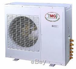 Ymgi 36000btu12k + 24k Double Zone Ductless Mini Split Climatiseur Pompe À Chaleur 36k