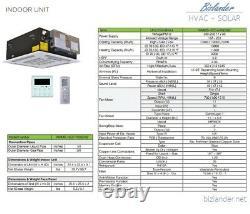 Ymgi 3 Ton Tri Zone Ductless Mini Split Air Conditioner Avec Pompe À Chaleur 21 Seer