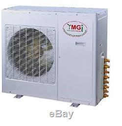 Ymgi 42000 Btu18k + 24k Deux Zone Ductless Mini Split Climatiseur Pompe À Chaleur