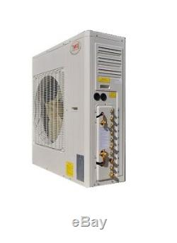 Ymgi 48000 Btu 24k + 24k Dual Zone Ductless Mini Climatiseur Split Pompe À Chaleur