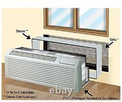 Ymgi 9000 Btu Conditionneur D'air Du Terminal Emballé 208-230v Avec Chauffe-eau 3kw