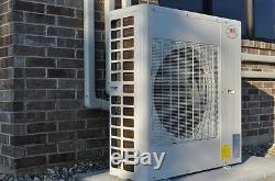 Ymgi Quatre Zones Btu 60000 Ductless Mini Split Climatiseur Avec Pompe À Chaleur