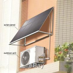 Ymgi Solaire Assist 12000 Btu Ductless Mini Climatiseur Split W Panneau Solaire 63