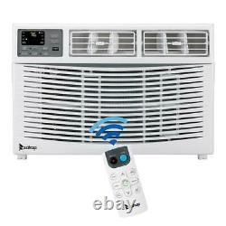 Zokop 12000btu Fenêtre Climatiseur Refroidisseur Déshumidificateur Ventilateur 3 Vitesse Avec Télécommande