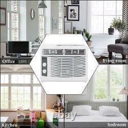 Zokop 5 000 Btu Fenêtre Climatiseur Ac Refroidisseur Unité Déshumidificateur Ventilateur 3-en-1