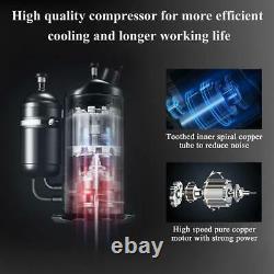 Zokop 5 000 Btu Window Air Conditioner Dehumidifier Ventilateur Refroidissement Jusqu'à 150 Pieds Carrés