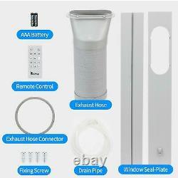 Zokop Portable 8000 Btu Ac Déshumidificateur Ventilateur De Déshumidificateur A/c Avec Télécommande